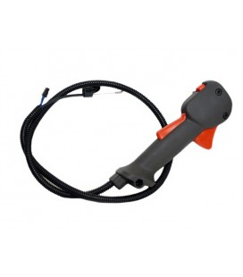 Рукоятка управления с тросиком газа для Husqvarna 128R
