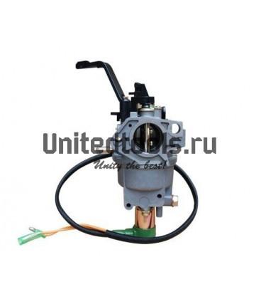 Карбюратор для двигателей 182F/188F/190F с электромагнитным клапаном и рычагом